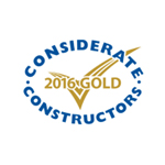 Considerate Constuctors Award Gold 2016